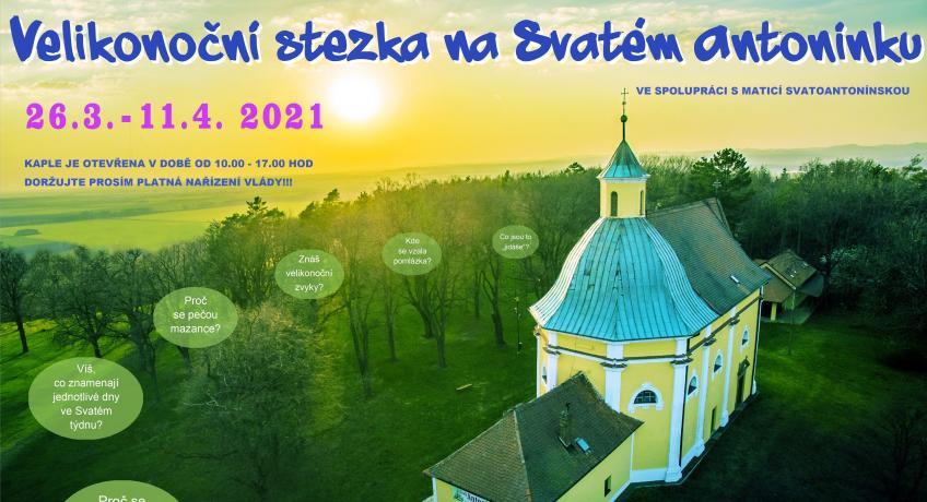 Velikonoční stezka na Svatém Antonínku