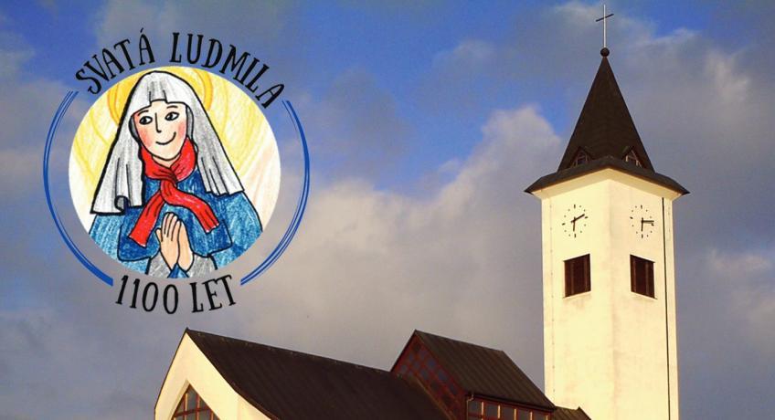 Pozvání na Den pro rodinu do Suché Loze, kde mají kostel sv. Ludmily