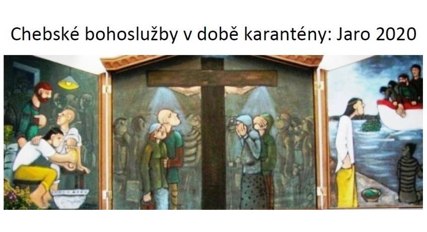 """Uložení Páně do hrobu Bílá sobota 2020 """"Zvítězil Lev z pokolení Judova"""""""