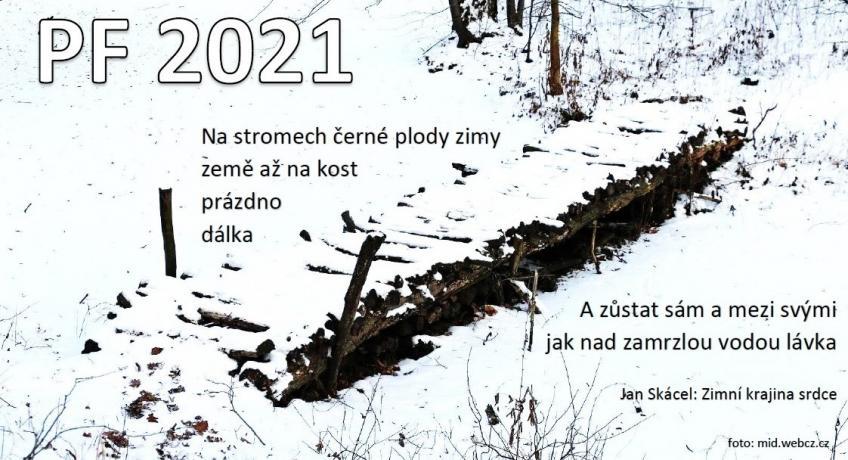 Farářské PF 2021: Jak nad zamrzlou vodou lávka