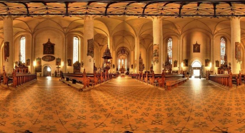 Chrám sv. Mikuláše a Alžběty - pro slabozraké