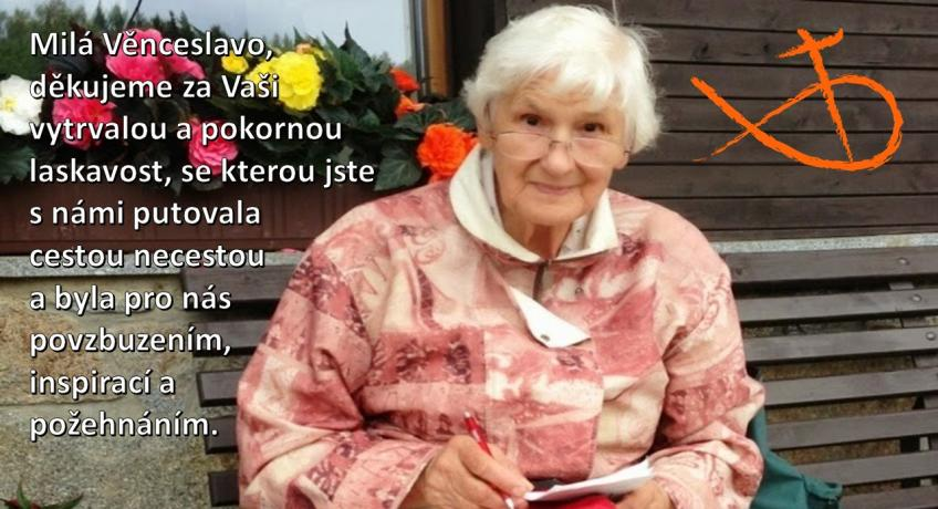 Rozloučení s paní Věnceslavou Tobrmanovou