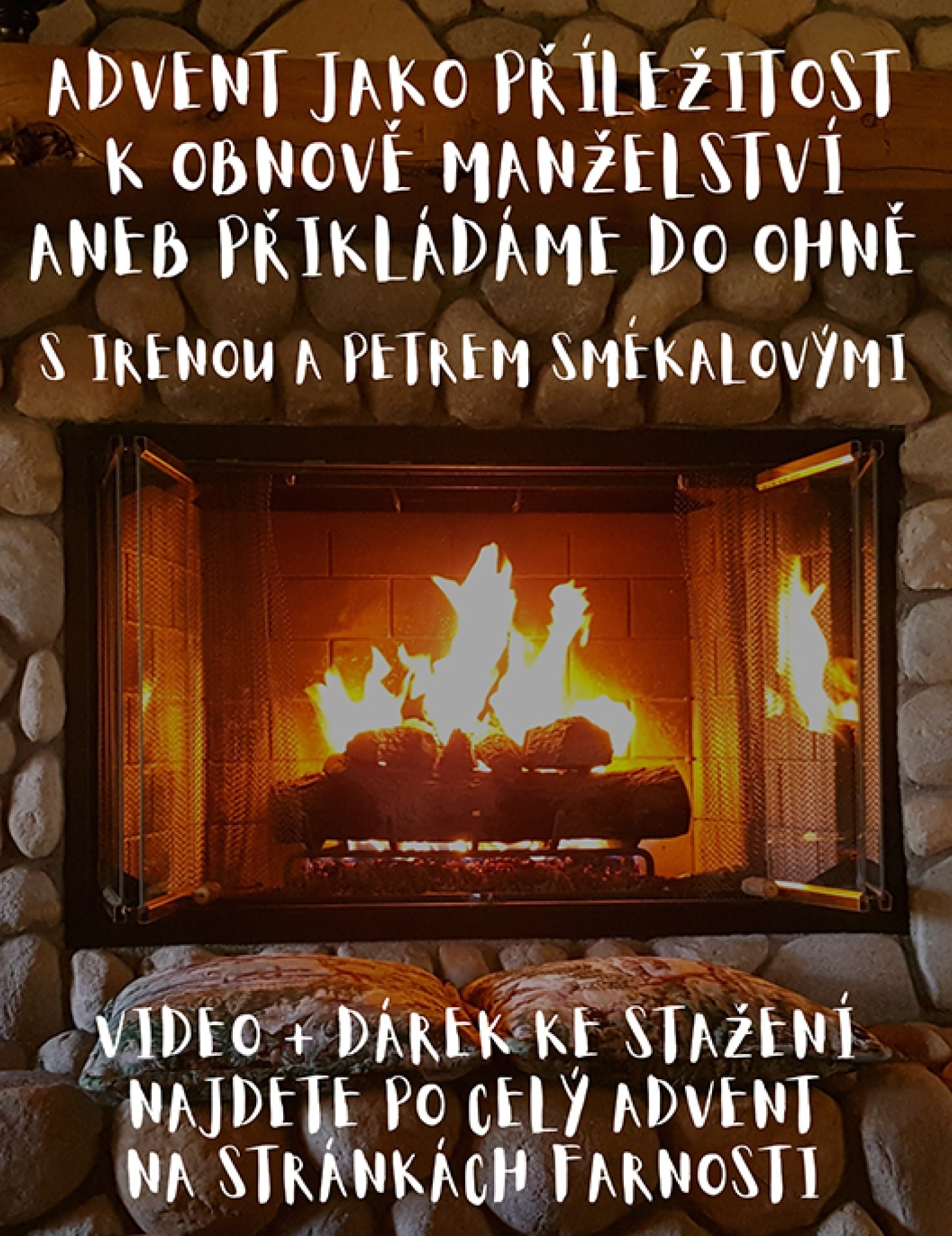 Přikládání do ohně - pozvánka