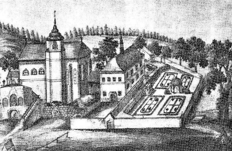 Poutní areál Sv. Anna s farní zahradou