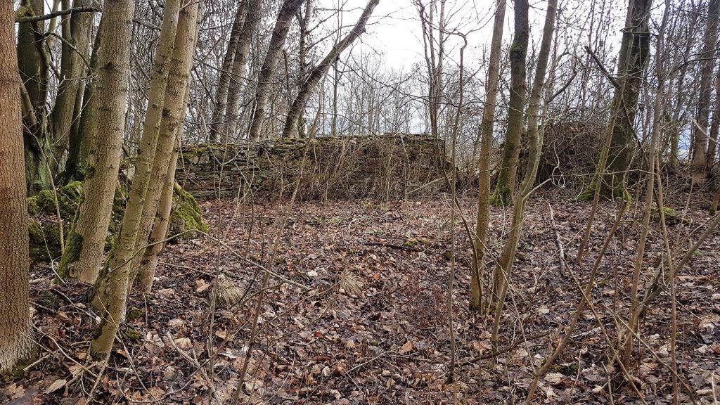 Východní část bývalé farní zahrady