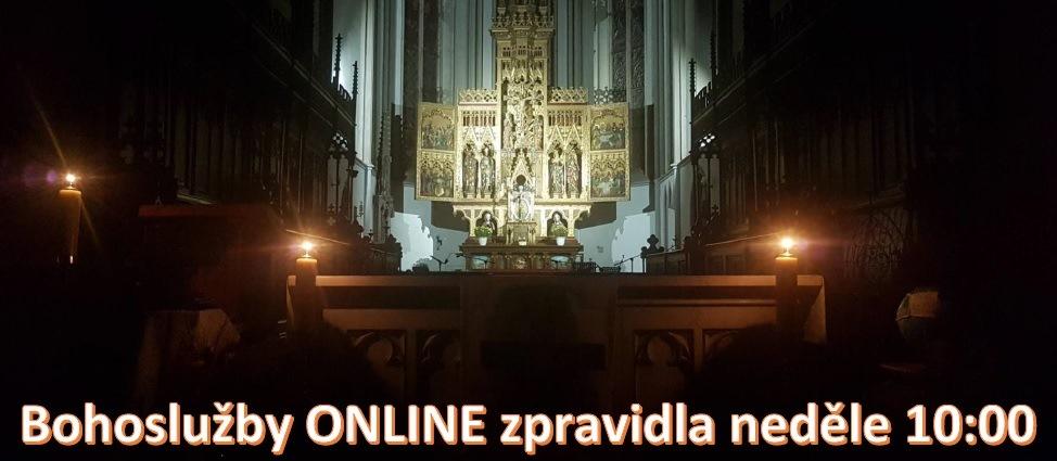 Bohoslužby ONLINE banner