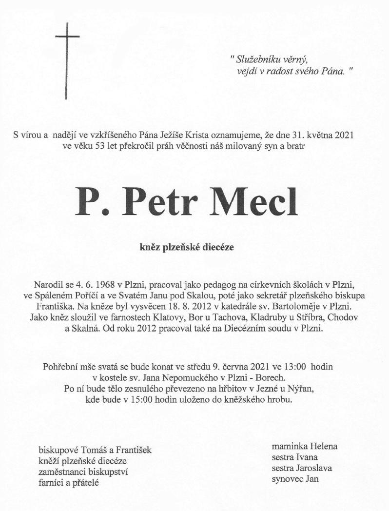 Petr Mecl parte