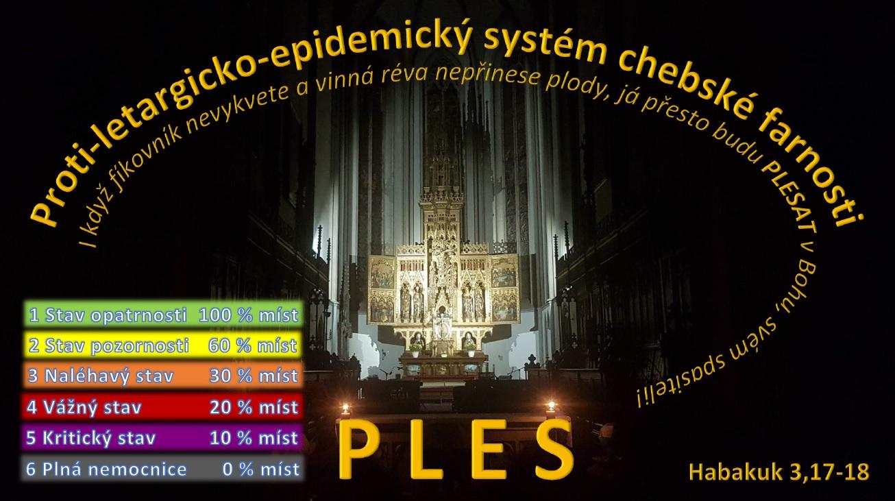 Farní PLES - protiepidemická opatření