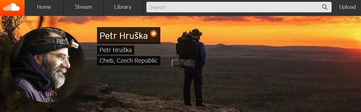 SoundCloud profil Petr Hruška