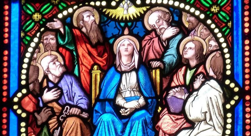 Okénko pro děti: Letnice - Seslání Ducha svatého