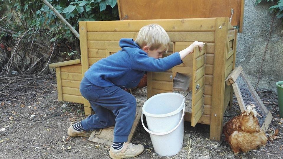 Farní zahrada k dispozici pro rodiny s dětmi