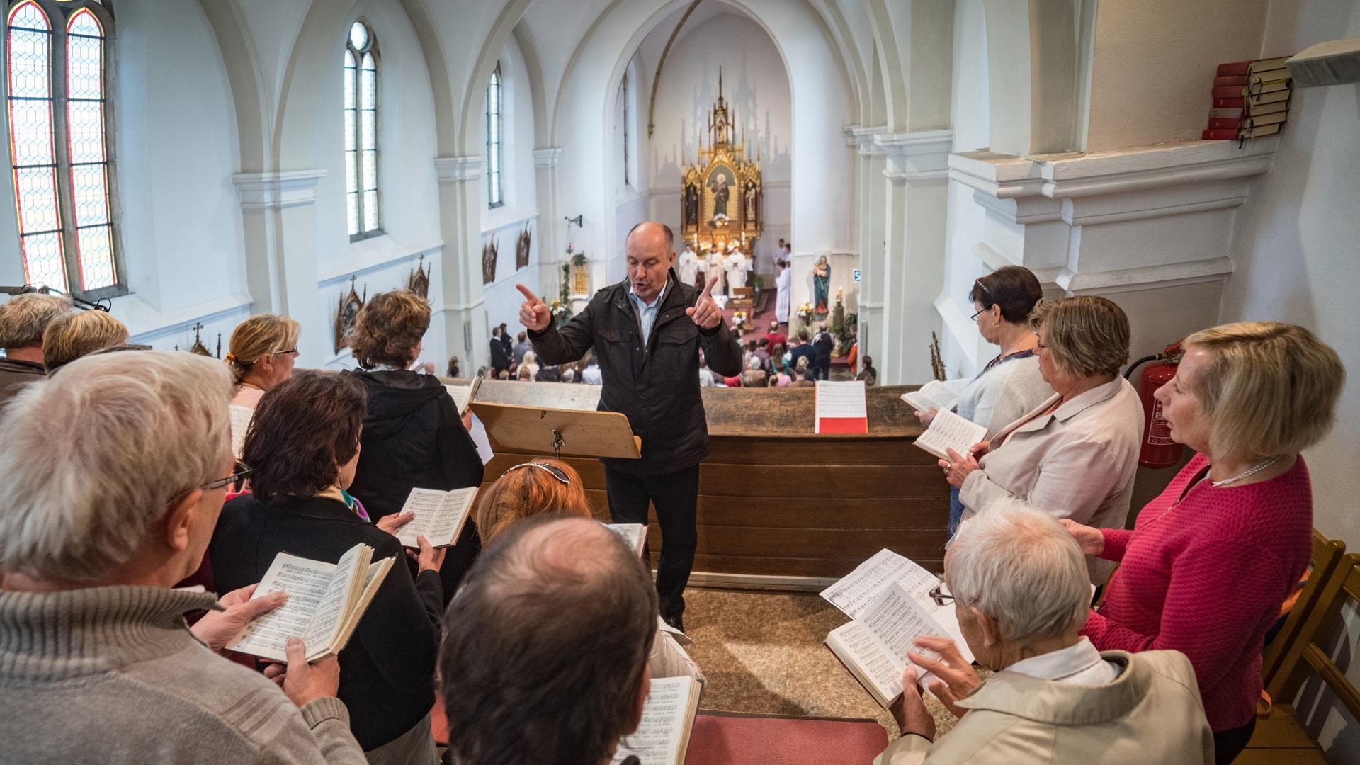 Chrámový sbor hledá nové členy