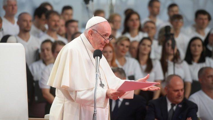 Slovensko: Papež k mladým lidem