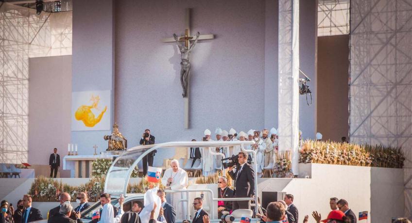 Šaštín: Poslední den cesty papeže na Slovensku