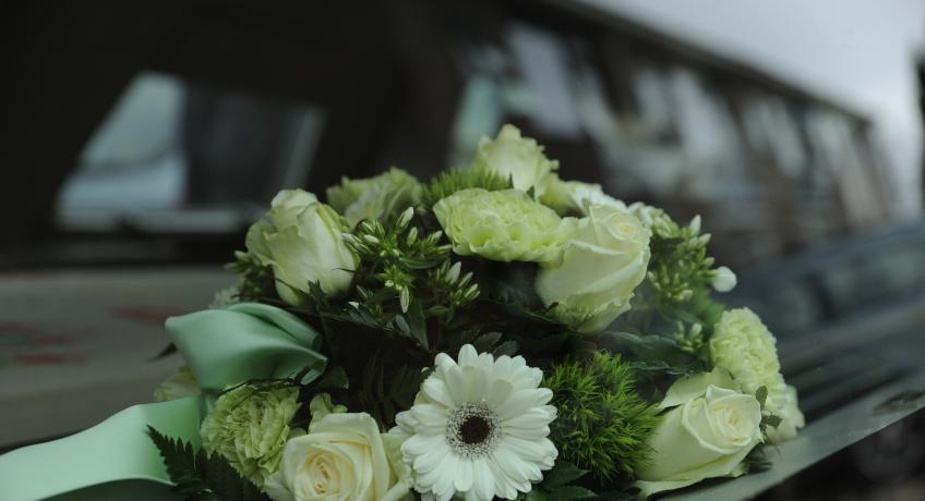 Pohřeb + Růženy Ondrůškové