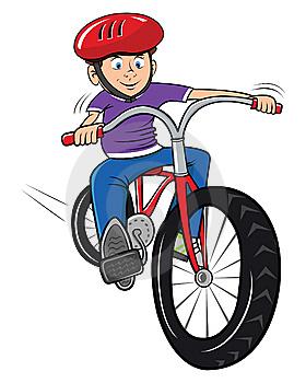 Kněz na kole