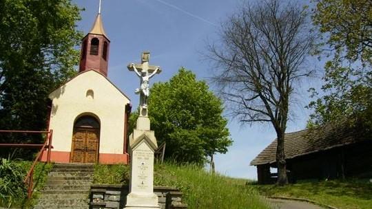 Hlasování: Rekonstrukce okolí kaple Panny Marie na Zlínských Pasekách