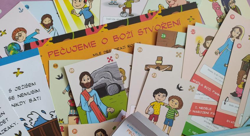 Kartičky pro děti k nedělním evangeliím