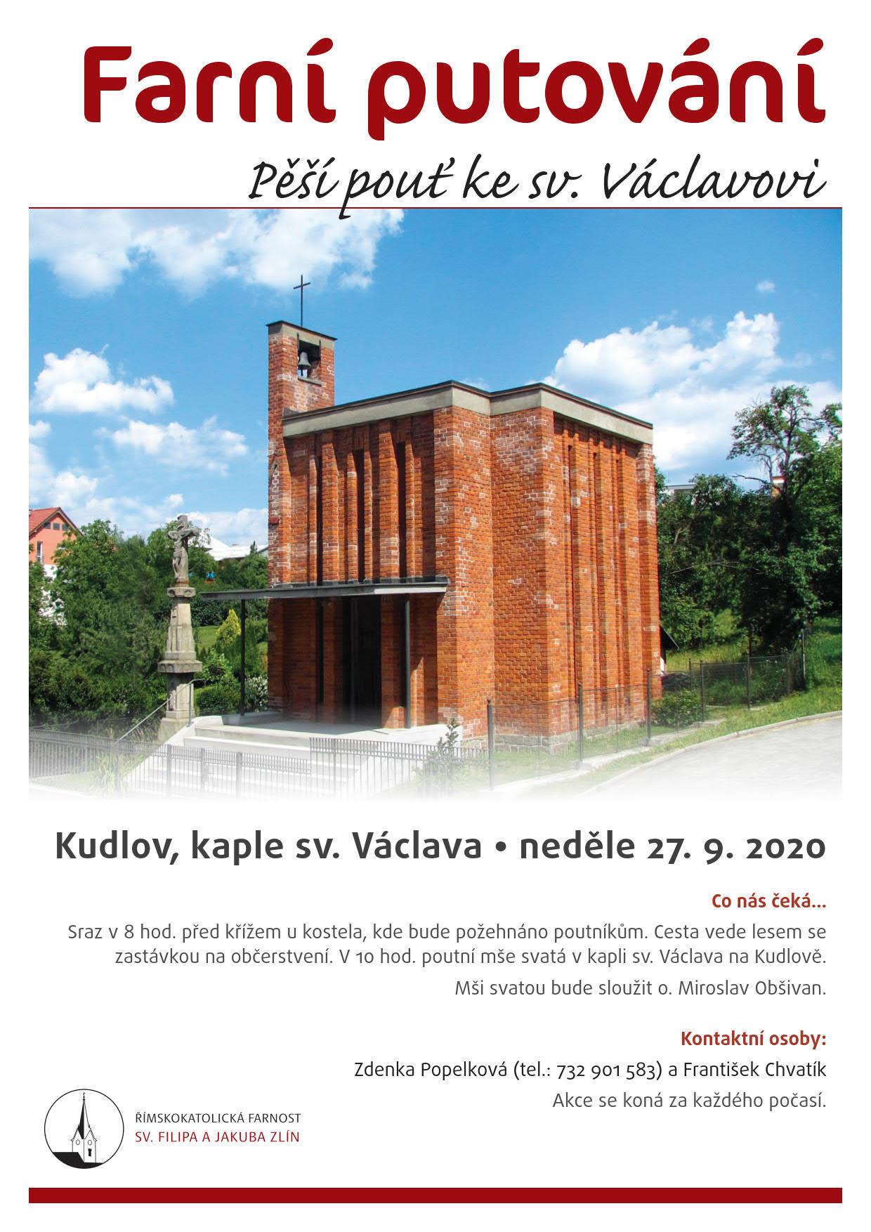 Farní putování Kudlov 2020