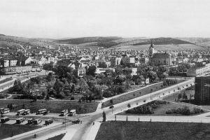 Historická fotografie Zlína