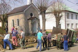 Kaple sv. Anny v Jaroslavicích - brigáda