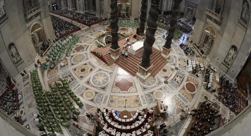 Homilie papeže Františka k zahájení Synody 2021 - 2023