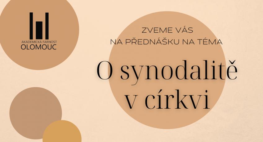 Přednáška: O synodalitě v církvi